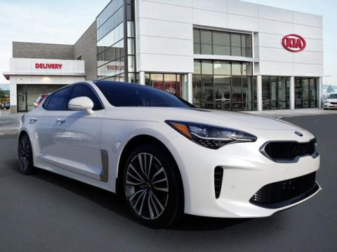 New 2018 Kia Stinger Premium With Navigation