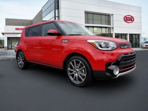 New 2018 Kia Soul Exclaim FWD 4D Hatchback